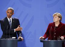 Barack Obama, Angela Merkel, Merkelová,