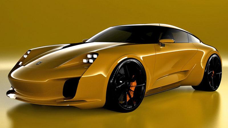 Selipanovov návrh sa nebál zasiahnuť priamo do DNA pôvodného Porsche 911. Predná časť je inšpirovaná elektrickým konceptom Mission E.
