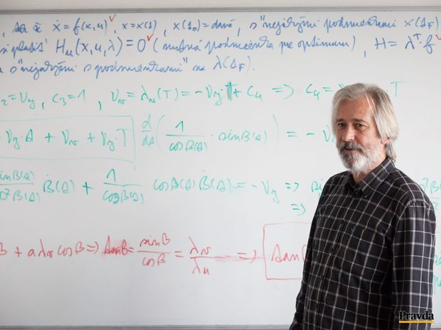 Profesor Karol Mikula: Mnohí nemajú ani predstavu, akú náročnú matematiku potrebuje napríklad projektant nejakej funkčnej budovy, statik alebo tvorca medicínskeho softvéru.