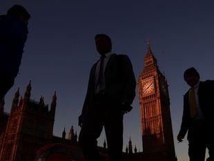 Londýn, Big Ben, Británia, Westminster