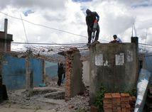 nepál, zmetrasenie, domy