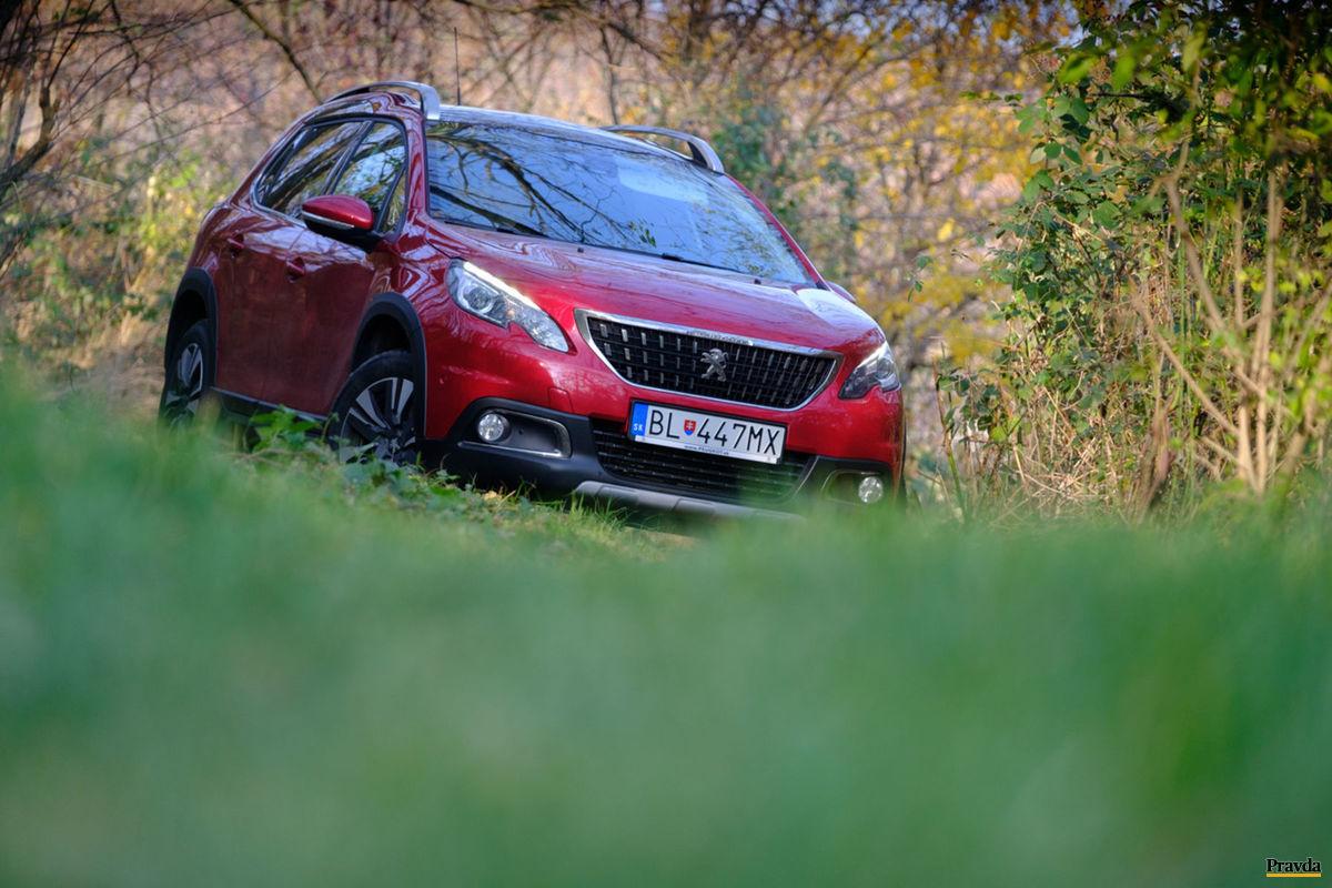 Peugeot 2008 je na trhu od roku 2013.