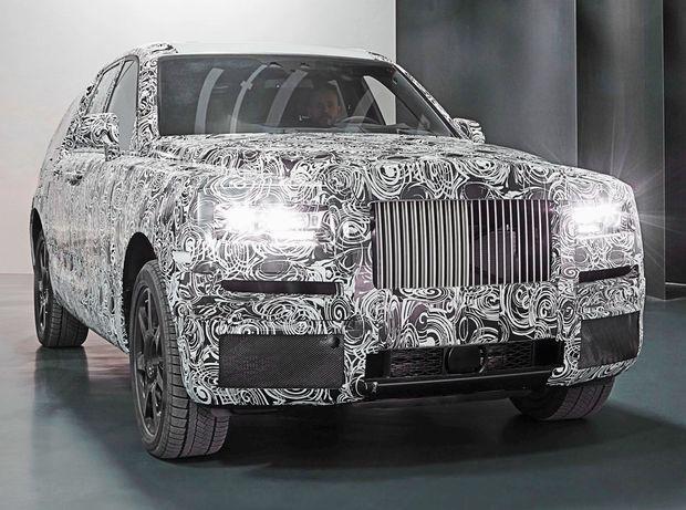 Rolls-Royce Cullinan - 2018