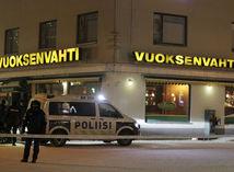 fínsko, streľba, polícia,
