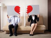 rozvod, rozchod, hádka