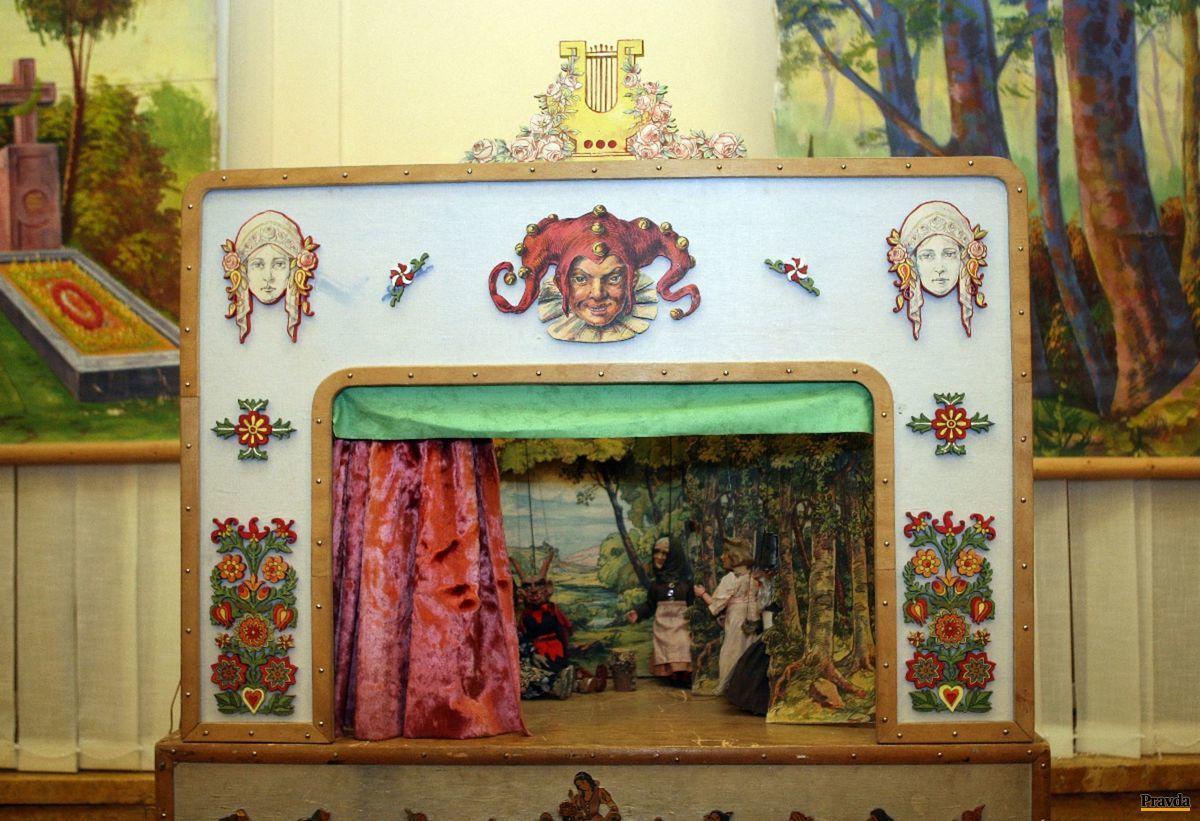Tradičné marionety zo zbierky Antona Anderleho vystavovalo aj Slovenské národné múzeum v Bratislave.