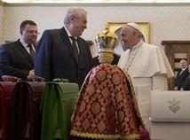 zeman, forejt, pápež františek,