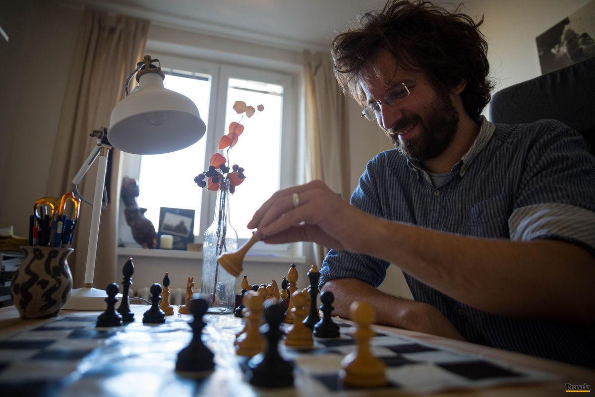 Slovenská šachová jednotka Ján Markoš.