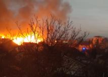 Nitra, telocvičňa, požiar