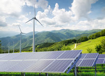 veterná elektráreň, solárne panely