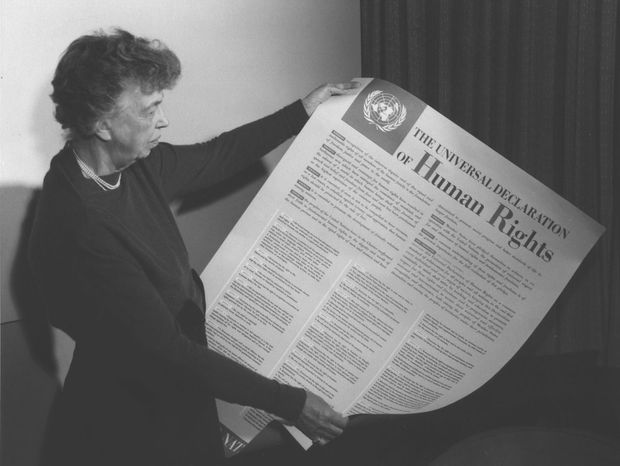 Eleanor Rooseveltová, Všeobecná deklarácia ľudských práv
