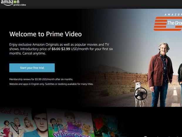 Amazon, Prime Video