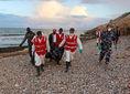 utečenci, líbya