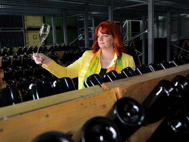 Ingrid Vajcziková, víno, hubert