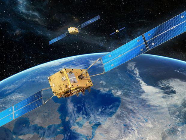 navigačný systém, galileo, satelity