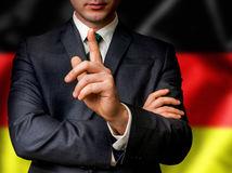 Nemecko, zdvihnutý prst, varovanie, pozor, politik, Nemec, oblek, kvalita