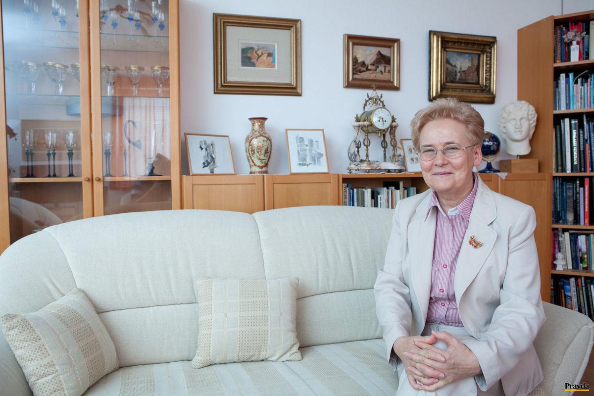 Brigita Schmögnerová.
