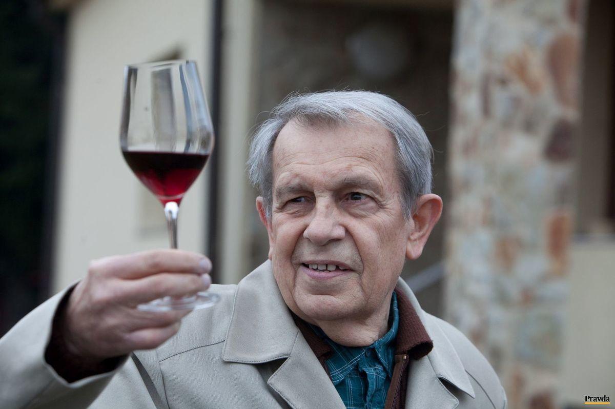 Ivan Kraus má rád víno a život.