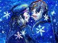 láska, vzťah, Vianoce, romantika