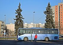 autobusová stanica, nové mesto nad váhom