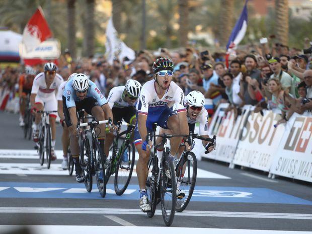 Saganov víťazný finiš na svetovom šampionáte v katarskej Dauhe.