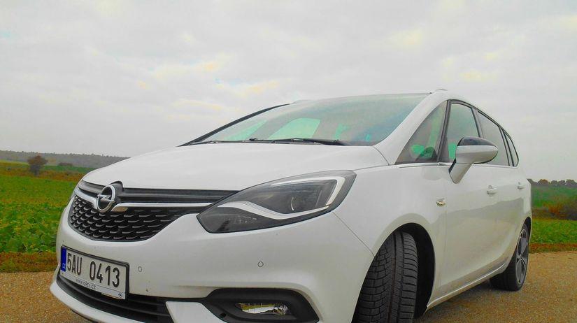 Test Opel Zafira 20 Cdti Alternatva K Suv Testy Auto
