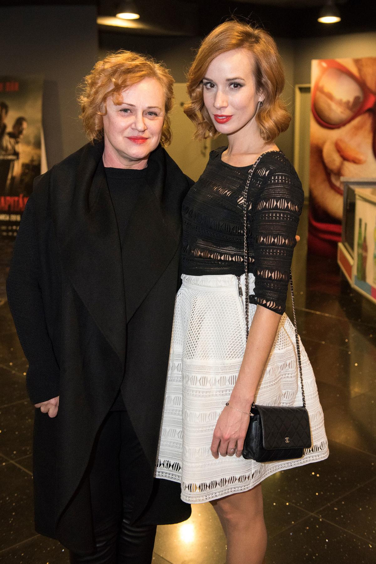 Herečka Táňa Pauhofová s mamou Ivetou.