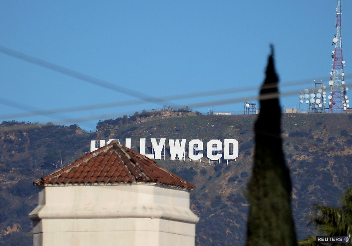 Hollyweed, Hollywood, prak, Kalifornia,
