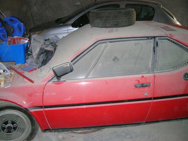 BMW M1 - objav v garáži