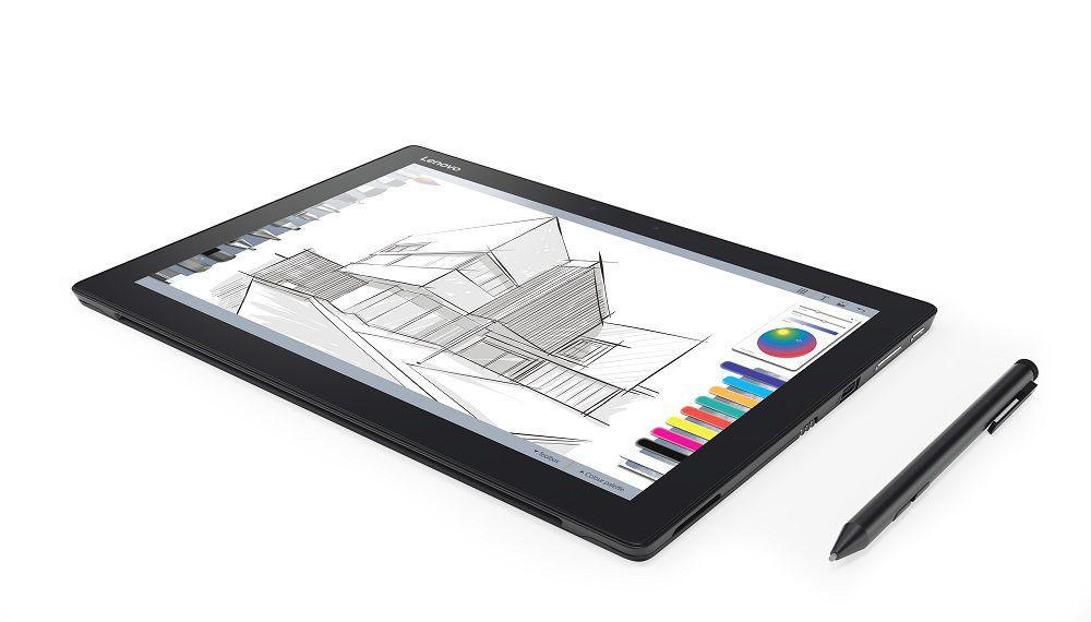 Hybrný tablet Lenovo Miix 720 (na obrázku) výrobca ponúka aj s novým dotykovým perom Active Pen 2.