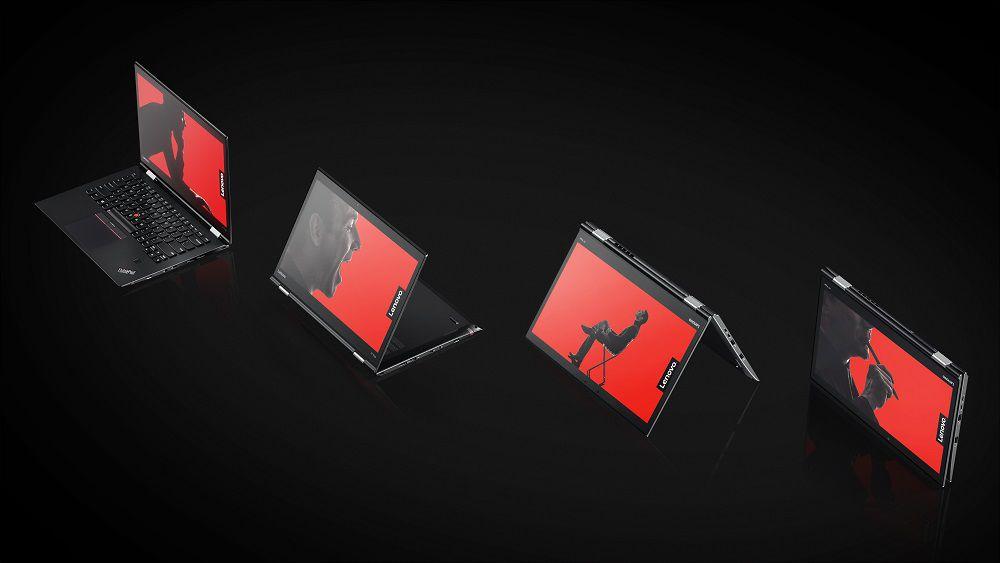 Na veľtrhu CES 2017 Lenovo predstavilo aj konvertibilný notebook X1 Yoga.