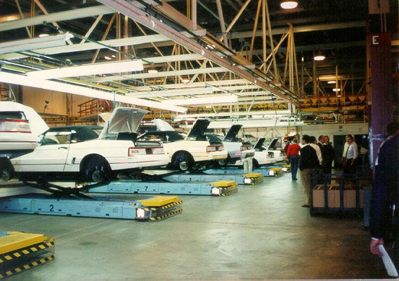 Finálna montáž prebiehala v novom závode Hamtrack v Detroite.