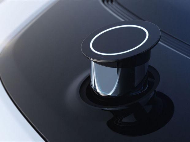 V autonómnom režime bude Future FF91 využívať aj takzvaný LiDAR, ktorý sa vysunie z prednej kapoty.