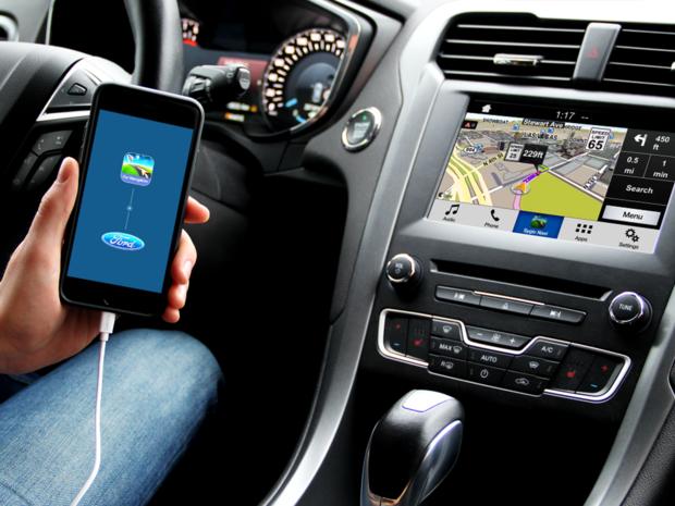 Ford, Sygic, navigácia