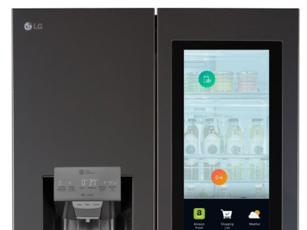 LG, Smart Instaview, chladnička
