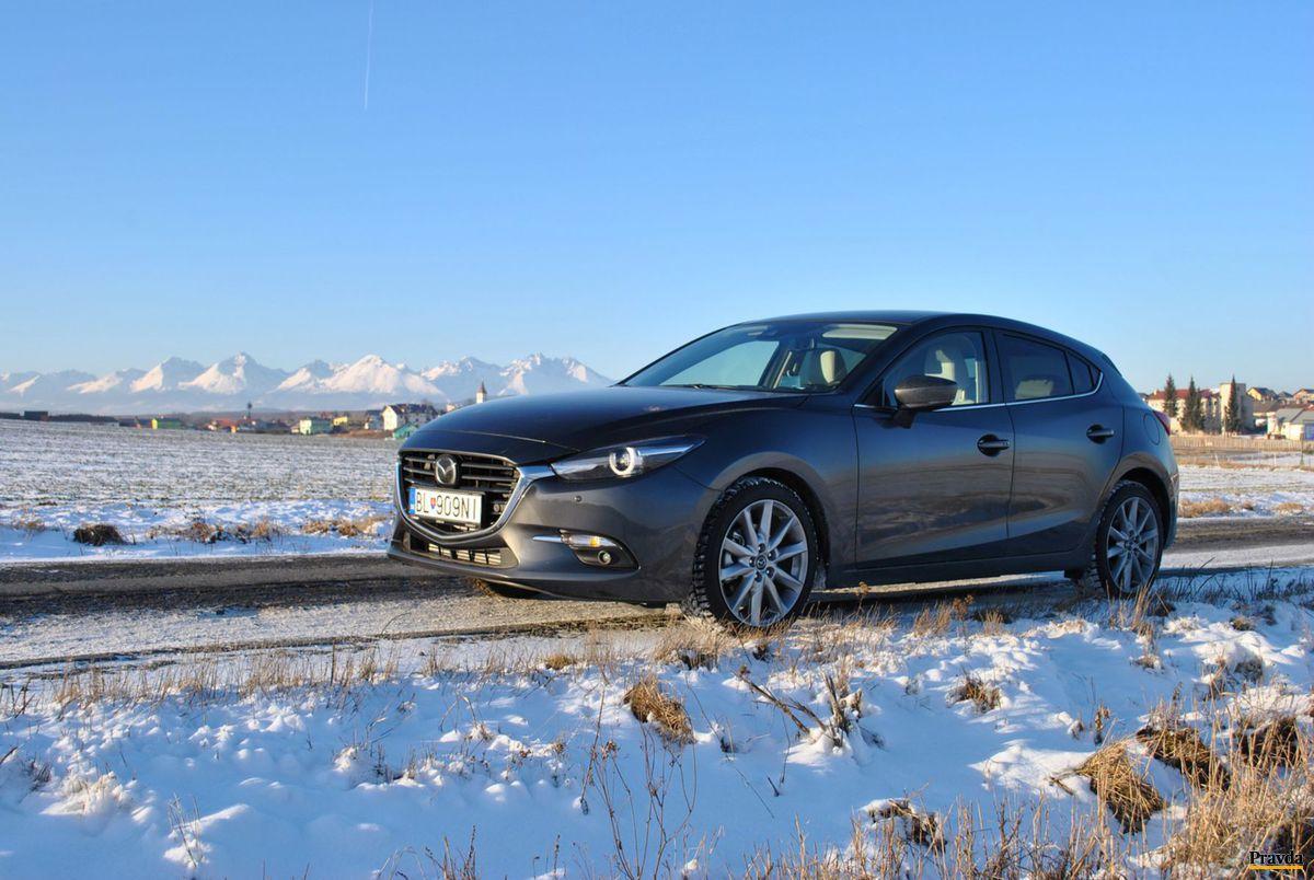 Mazda 3 tretej generácie má za sebou už aj facelift, ktorý priniesol len malé zmeny.