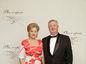 Predstaviteľka finančného sektora Elena Kohútiková s manželom.