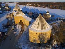hrad, zámok, zima, sneh, Rusko