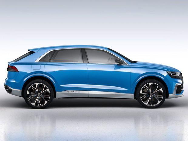 Namiesto splývavej siluety kabíny použilo Audi len zníženú strechu, bezrámovú konštrukciu okien a viac sklonený zadný stĺpik odkazujúci na legendárne Audi Ur-quattro. Celé to dotvárajú obrovské 23-palcové disky kolies.