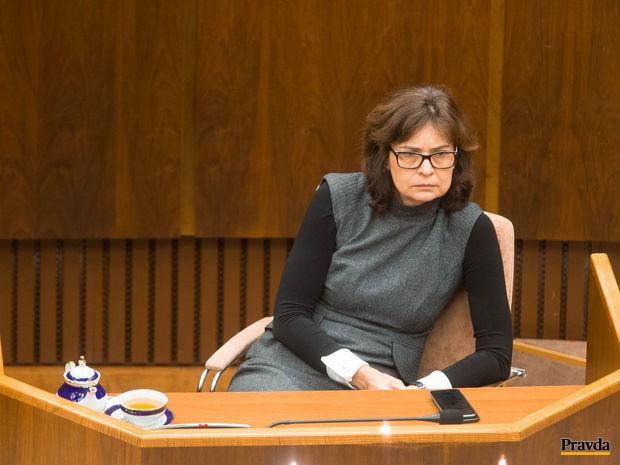 parlament, Lucia Žitňanská