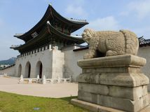 Gyeongbokgung, Soul, Kórea, palác