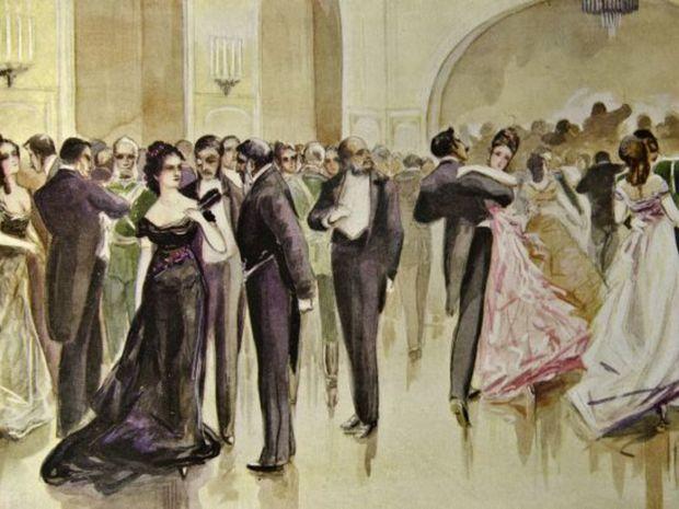 bál, ples, aristokracia,