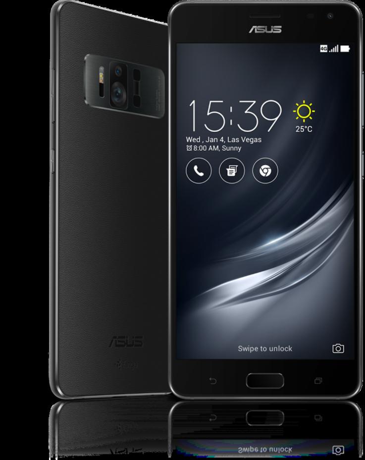 Asus ZenFone 3 AR podporuje technológiu Tango od Intelu pre sprostredkovanie rozšírenej a virtuálnej reality.