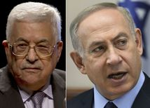 Abbás, Netanjahu