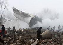 Na mieste pádu lietadla v Kirgizsku našli čiernu skrinku