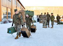 nórsko, americkí vojaci