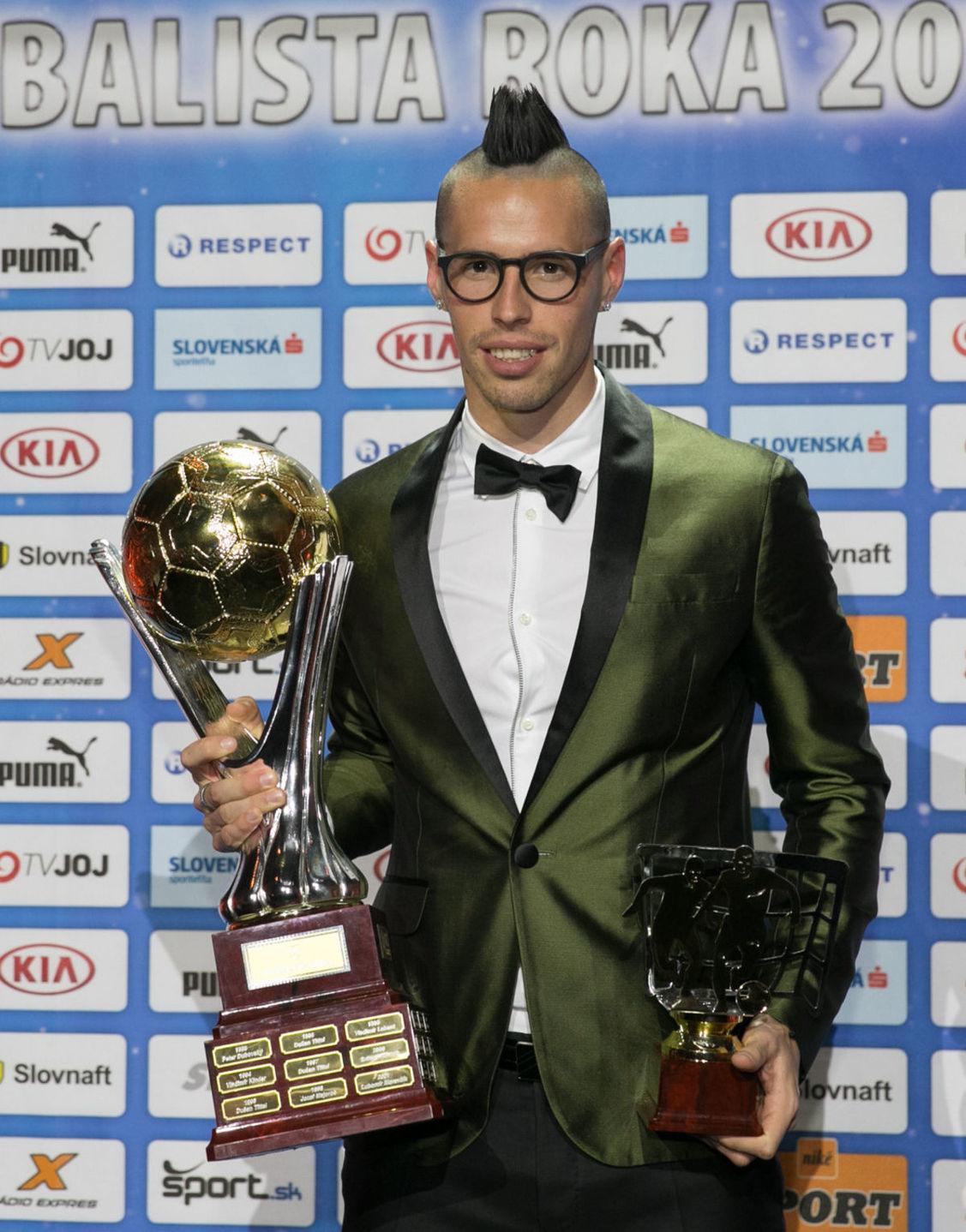 Futbalista Marek Hamšík.