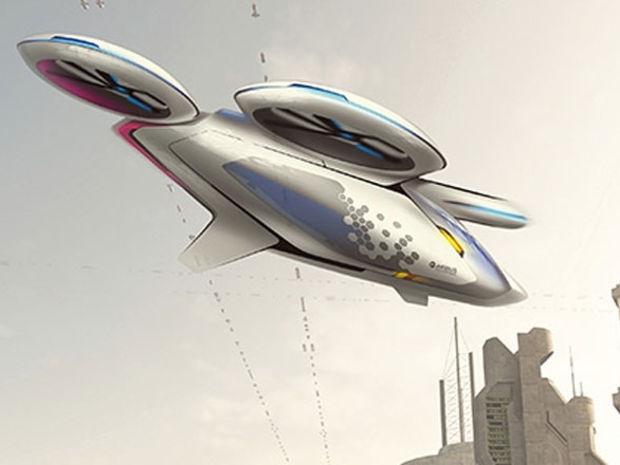 Lietajúci dron by mal byť takzvaným konvertoplánom, ktorý si vystačí bez vzletovej a pristávacej dráhy. V režimoch vzletu a pristátia bude pracovať ako vrtuľník.