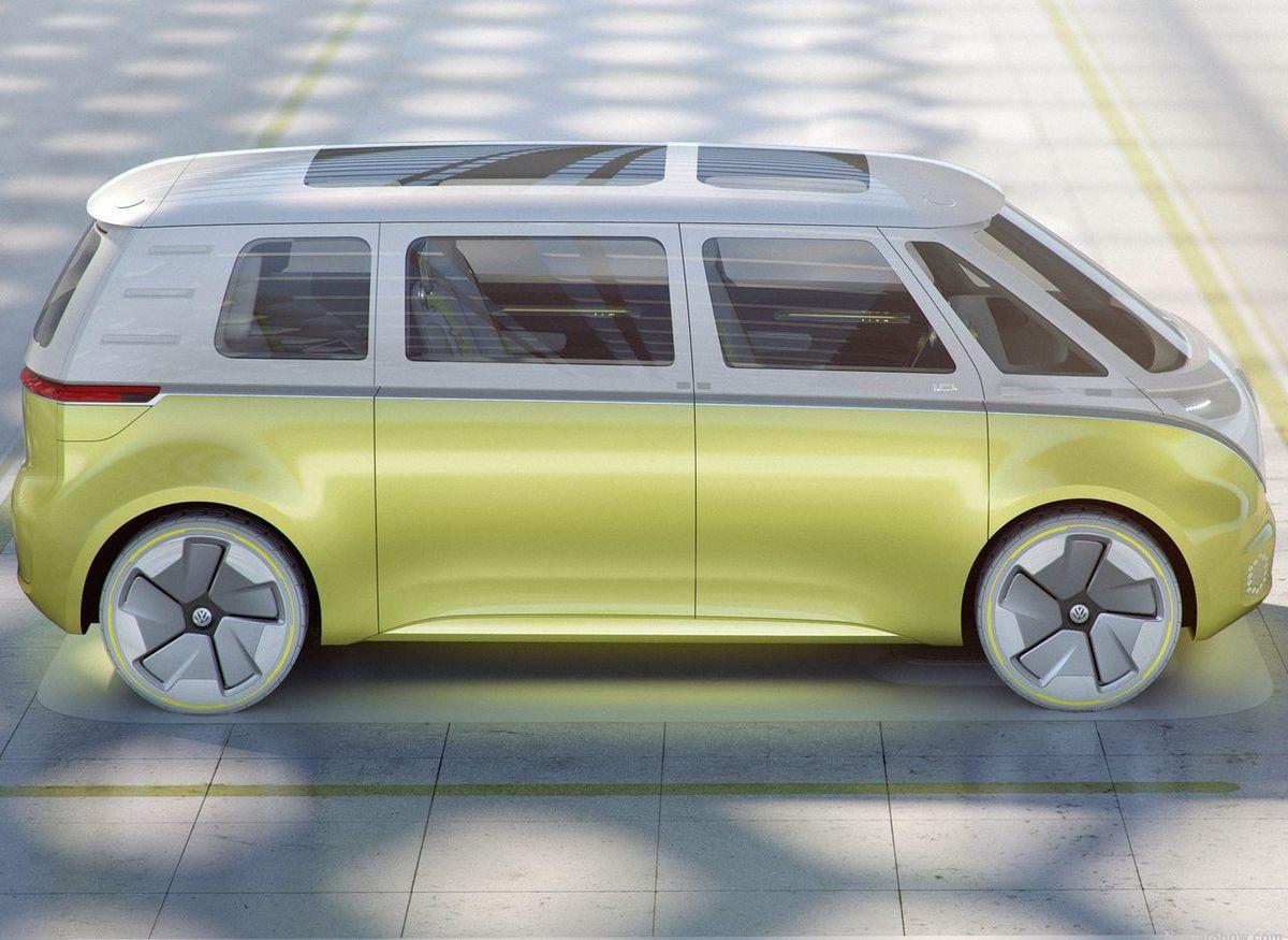 I.D. Buzz je poriadne veľkým autom. Na dĺžku má takmer päť metrov, na výšku takmer dva a rázvor náprav s hodnotou až 3 300 mm.