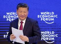 Švajčiarsko, Davos, Si Ťin-pching